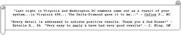 Pick-3 Delta Diamond System